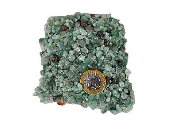 500g De Pedra Rolada De Cascalho Quartzo Verde Natural Atacado Chakra