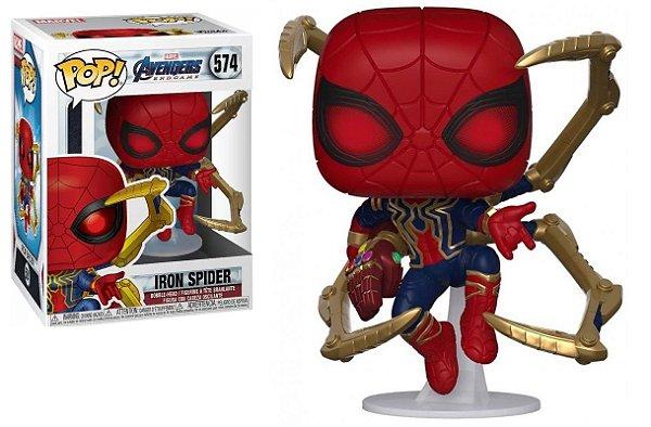 Boneco Funko Pop Avengers Endgame Iron Spider 574