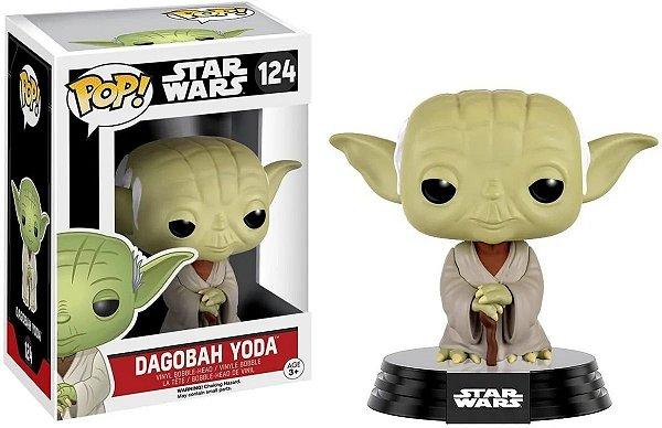 Boneco Funko Pop Star Wars Dagobah Yoda 124