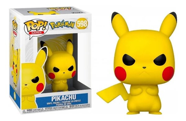 Boneco Funko Pop Games Pokémon Grumpy Pikachu 598