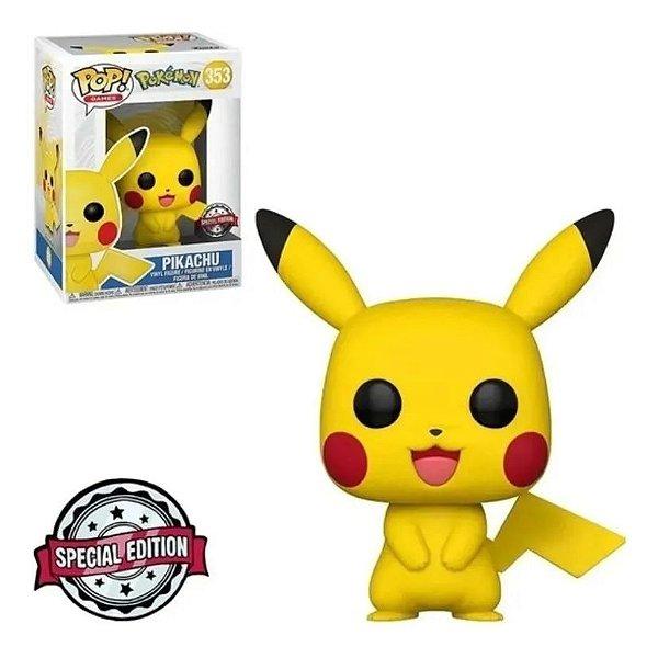 Boneco Funko Pop Pokémon Pikachu 353
