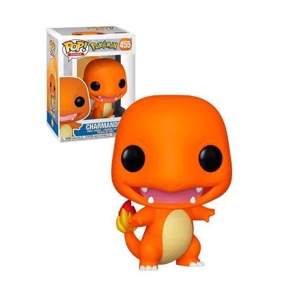 Boneco Pop! Funko Pokémon Charmander 455