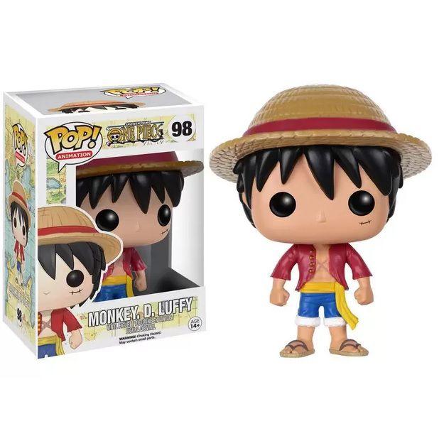 Boneco Pop Funko One Piece Mokey D. Luffy 98