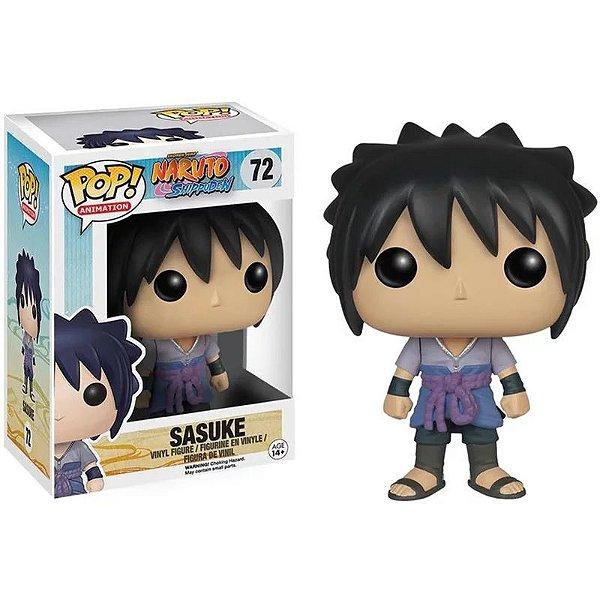 Boneco Pop Funko Naruto Sasuke 72