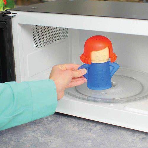 Limpa Microondas - Angry Mama Limpeza Higienização Vaporização