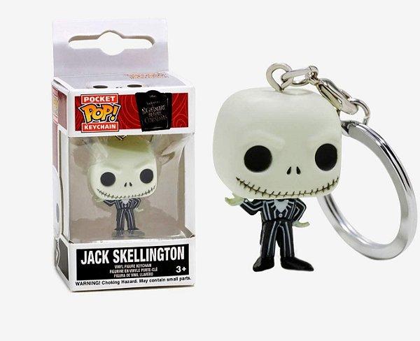 Chaveiro Funko Pop Disney Boneco Jack Skellington