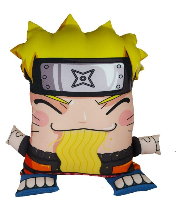 Almofada Decorativa Boneco Naruto Uzumaki