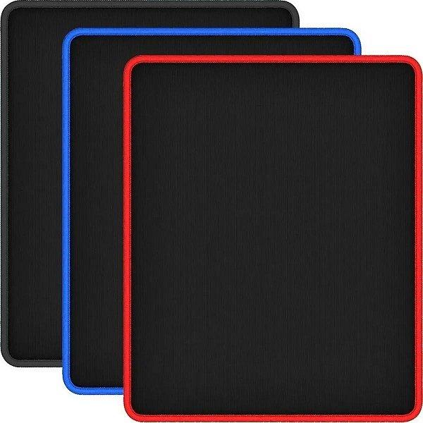 Mouse Pad Reforçado Gamer Com Borda Costurada 27x22x0,5cm