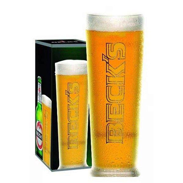 Copo Cerveja Becks 300 Ml Taça Importado