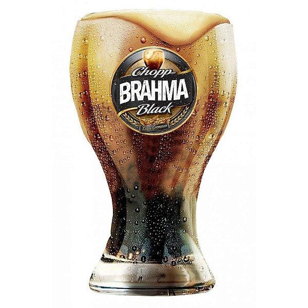 Copo Chopp Brahma Black - 430 ML