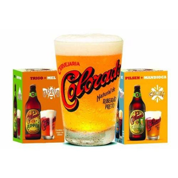 Copo Original da Cervejaria Colorado - 350ml