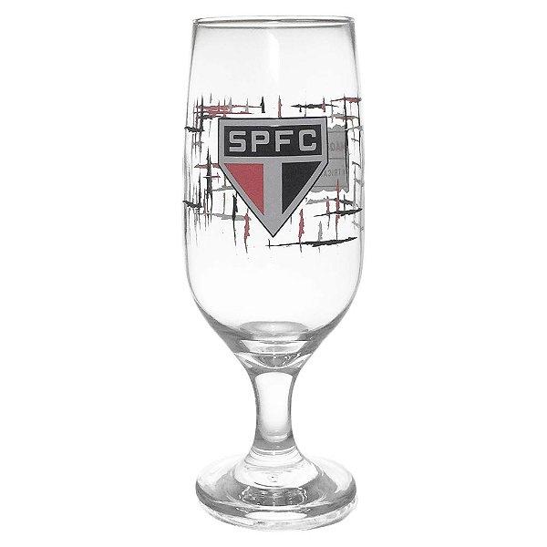 Taça de cerveja e chopp do São Paulo 300ML