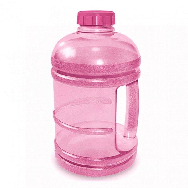 Garrafa De Água Modelo Garrafão Fitness 1,8 Litros Rosa