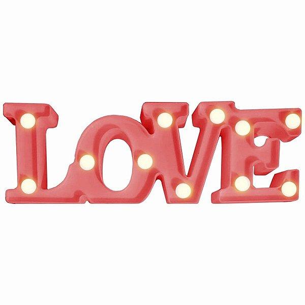 Luminária Decorativa Love