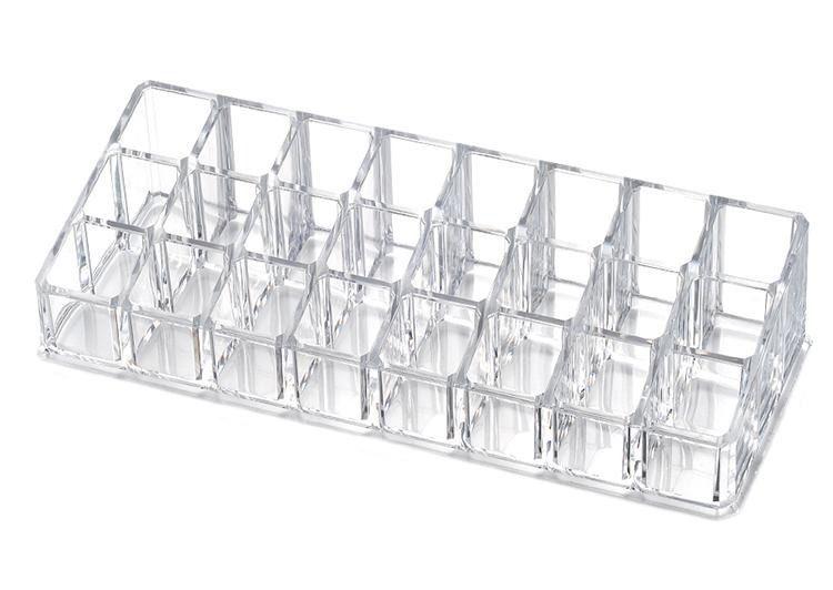 Porta Batom Organizador Em Acrílico Para 24 Batons