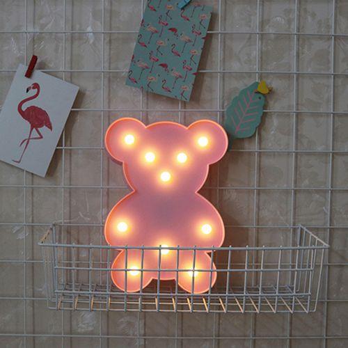 Luminária De Led Decorativa Em Formato De Urso - Ursinho