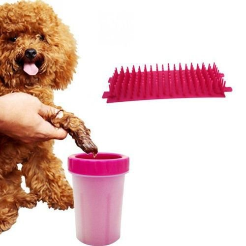 Copo Limpador Limpa Patas Patinhas Cachorro Pet Limpeza