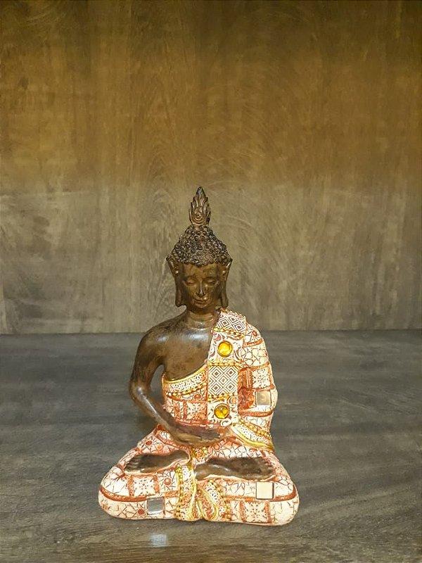 Buda Hindu Estatua Resina Decoração 15 cm