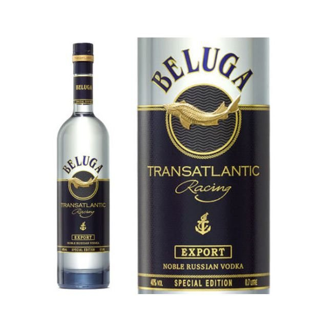 Vodka Russia Beluga Noble 700ml - Special Edition Transatlantic Racing