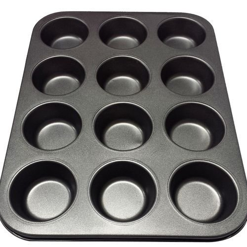 Forma Para Bolo Cupcake Anti-aderente 12 Cavas