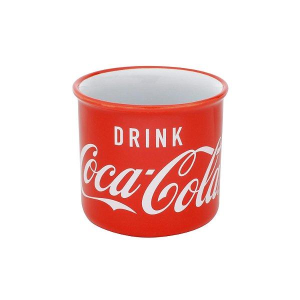 Caneca Coca Cola Logo Vermelho Porcelana 380 Ml