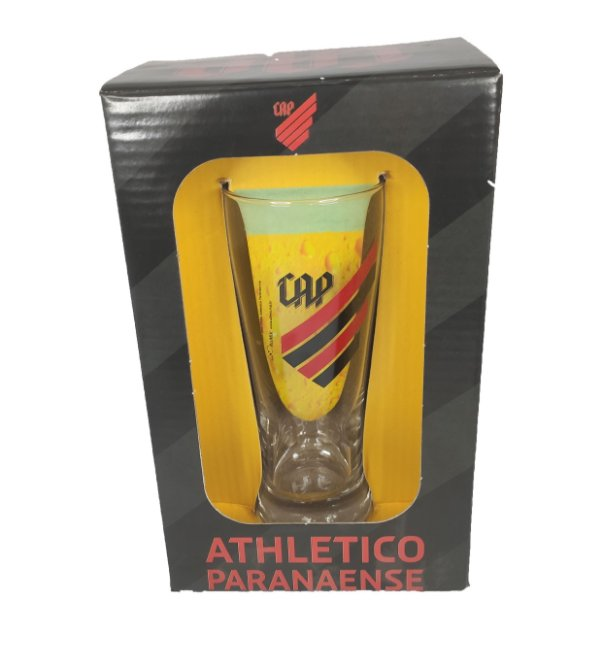 Copo Chopp Cerveja Athletico Furacao 300 ML - Tulipa