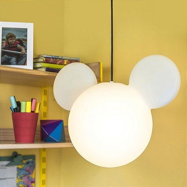 Luminária Pendente Mickey Mouse - Usare