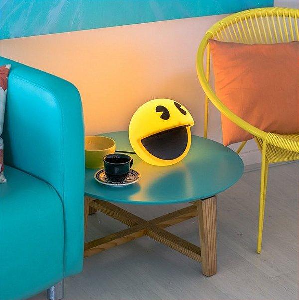 Luminária Abajur De Mesa Decorativo Quarto Sala Pac Man