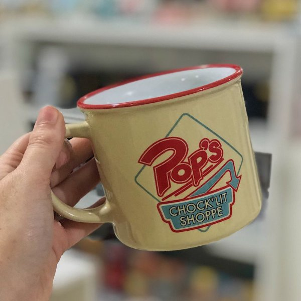 Caneca Porcelana Riverdale Pop's 380ml - Urban