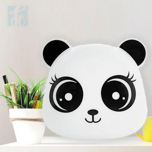 Luminaria Abajur Infantil Panda Decorfun