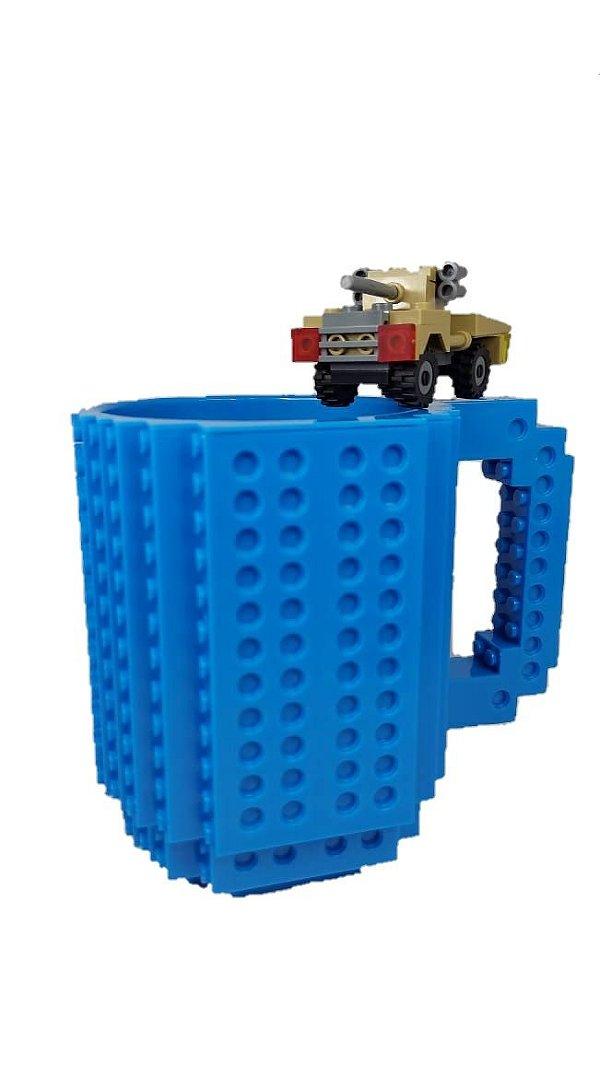 Caneca Lego + Brinde Lego, Várias Cores Disponíveis