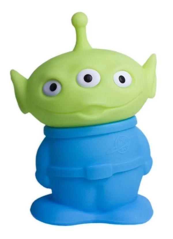 Luminária De Mesa 3d Abajur Decor Bivolt - Alien - Toy Story