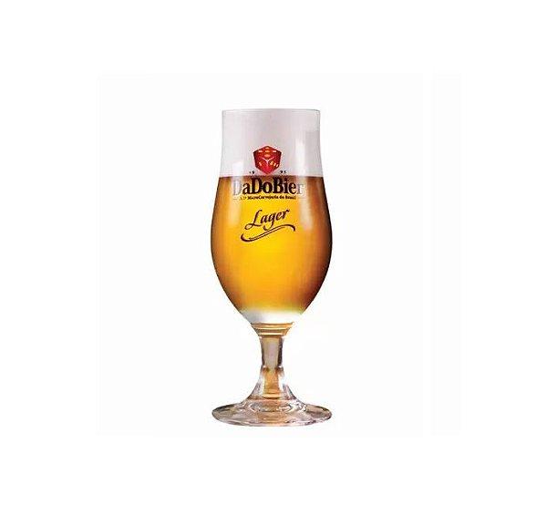 Taça De Cerveja Dado Bier Lager Em Cristal 370ml
