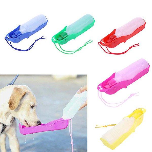 Bebedouro Garrafa Pet Para Cães E Gatos Água Dog - Portátil P/ Viagem