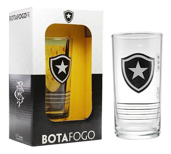 Copo De Vidro Long Drink Cerveja Chopp Botafogo 300 Ml