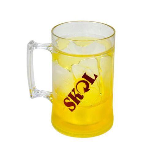 Caneca De Gel Skol 410 Ml Congelável - Cerveja