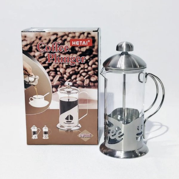 Cafeteira Prensa Francesa Cremeira 600ml - Café Chá
