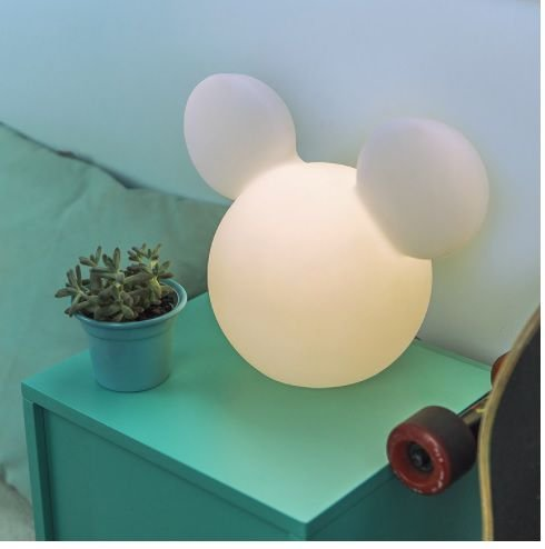 Luminária / Abajur Infantil Mickey Mouse Disney 3d