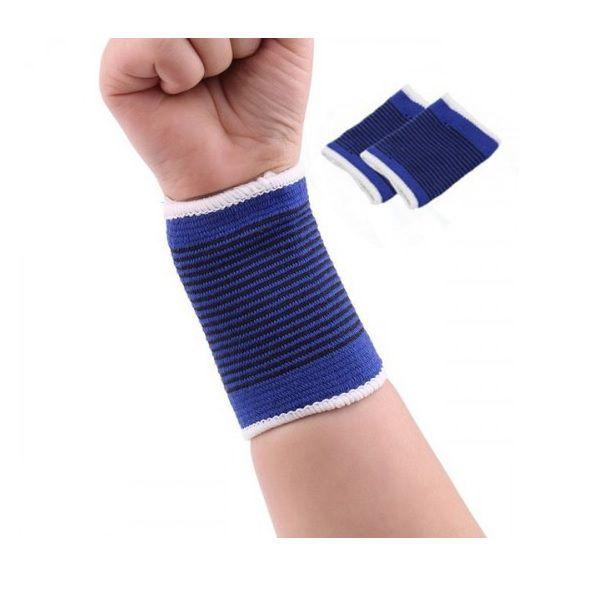 Munhequeira Protetor Para Punho Elástica Compressão - Par