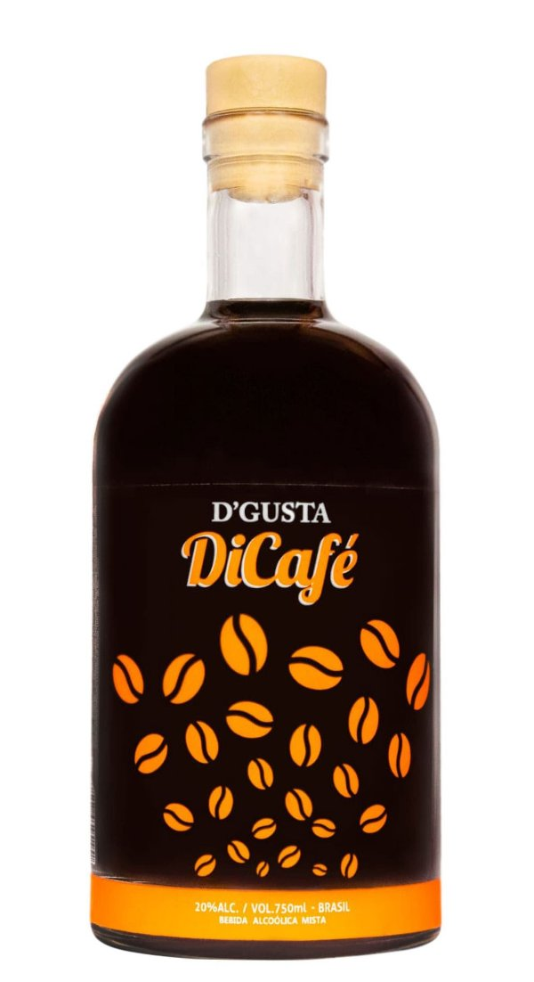 Cachaça D´gusta Dicafé 750ml - Sabor Café