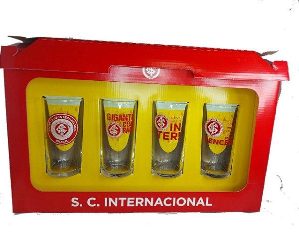 Conjunto 4 Copos Long Drink 300ml Do Internacional