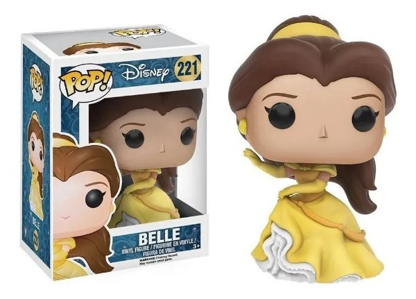 Boneco Funko Pop Disney Princesas Dancing Belle Bela 221