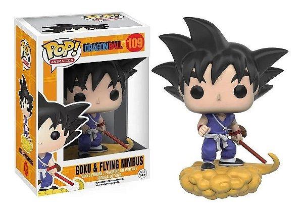Boneco Funko Pop Anime Dragon Ball Goku Flying Nimbus 109