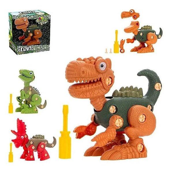Dinossauro Monta Desmonta Ferramenta Brinquedo Infantil