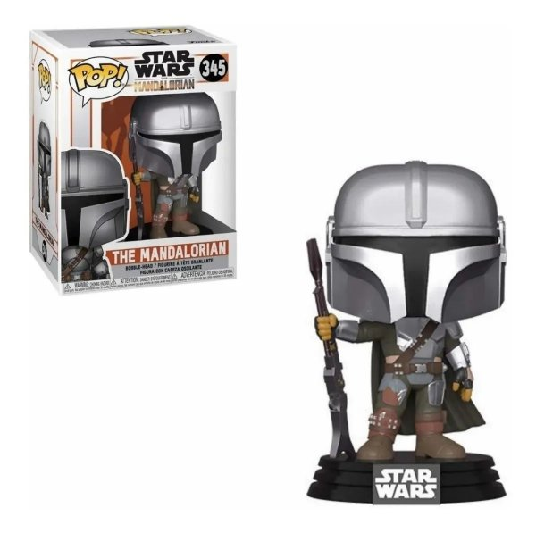 Boneco Funko Pop Star Wars The Mandalorian 345