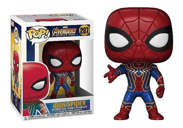 Boneco Funko Pop Avengers Infinity War Iron Spider 287