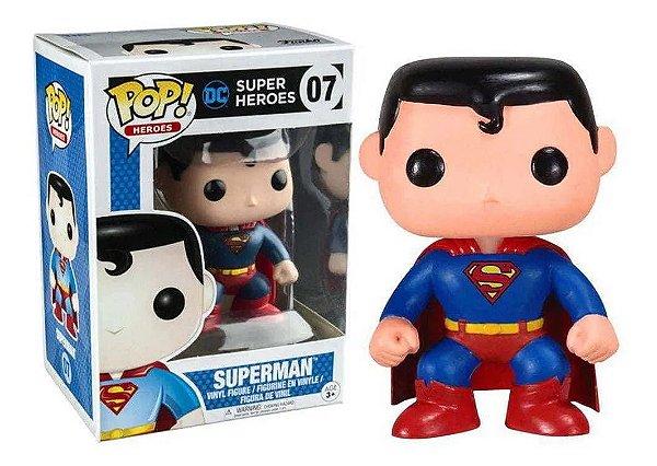 Boneco Funko Pop! Heroes Universe Superman Super Homem 07
