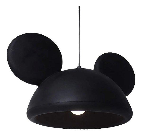 Luminária Pendente / Lustre De Teto Do Mickey - Disney