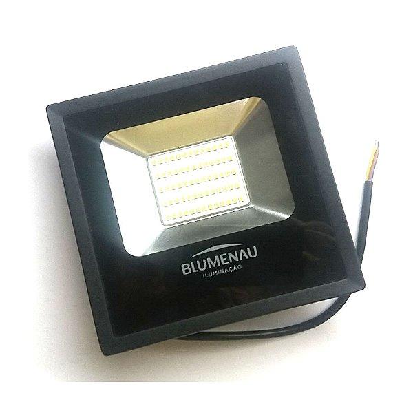 Refletor LED 50W Aluminio IP65 Luz Branca 74506000 Blumenau