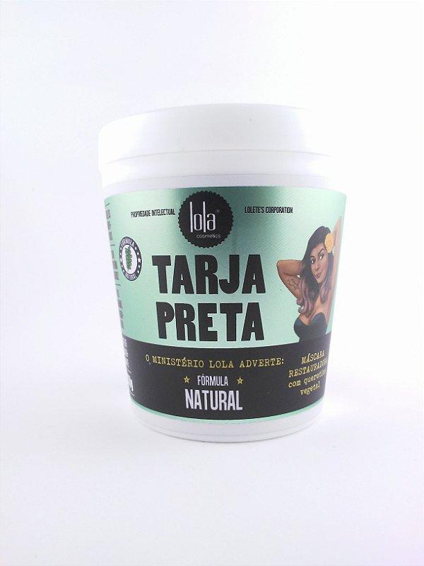 Máscara Restauradora Tarja Preta